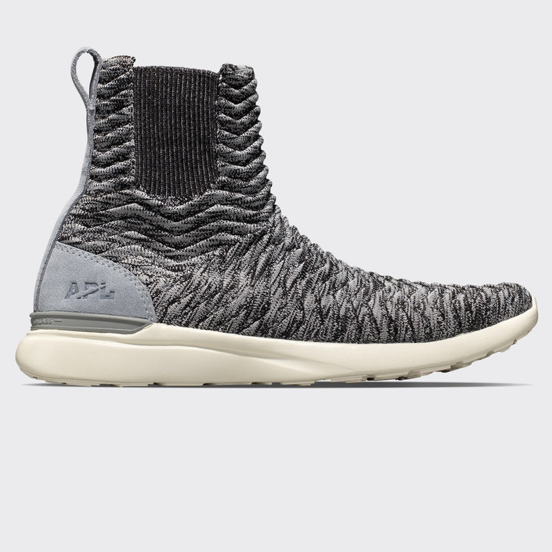 Men's TechLoom Chelsea Heather Grey / Pristine