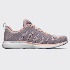 Women's TechLoom Pro Peach Puree / Grisaille / White