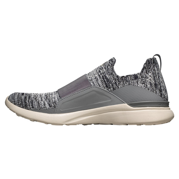 Women's TechLoom Bliss Heather Grey / Pristine