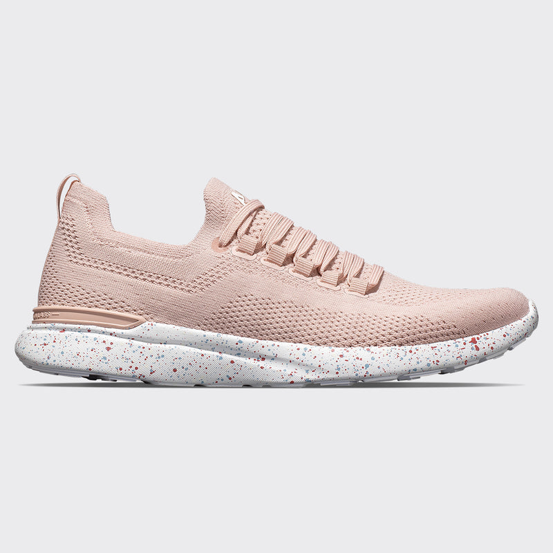 Women's TechLoom Breeze Peach Puree / White / Blue Oxide