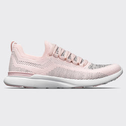 Women's TechLoom Breeze Bleached Pink / Heather Grey / White