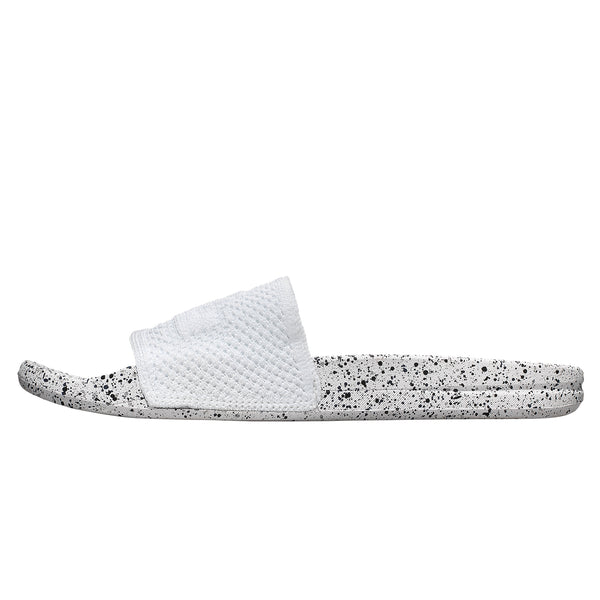 Women's Big Logo TechLoom Slide White / Black / Navy