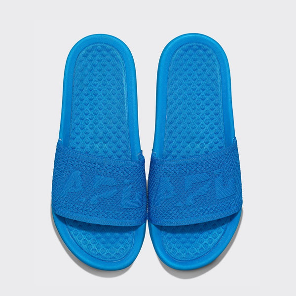 Men's Big Logo TechLoom Slide Royal Blue