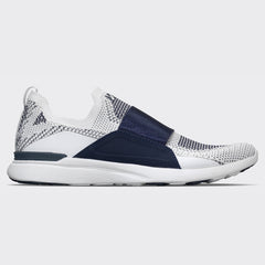 Men's TechLoom Bliss White / Navy