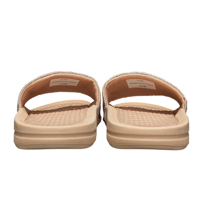 Men's Big Logo TechLoom Slide Rose Gold