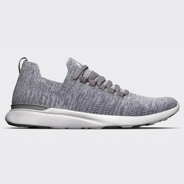 Men's TechLoom Breeze Merino Grey / White (Merino Wool)