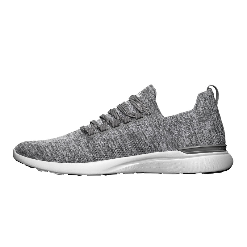Women's TechLoom Breeze Merino Grey / White (Merino Wool)