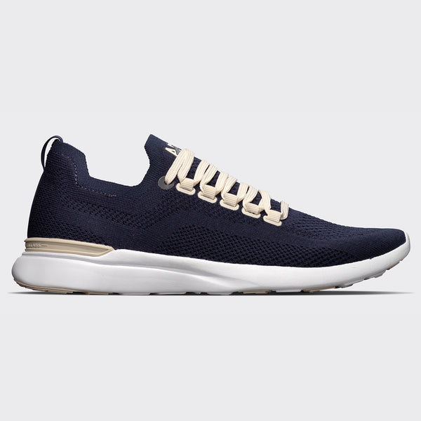Women's TechLoom Breeze Navy / Parchment / White (Merino Wool)