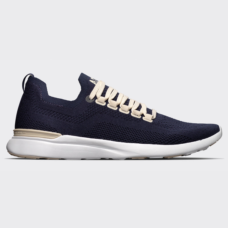 Men's TechLoom Breeze Navy / Parchment / White (Merino Wool)