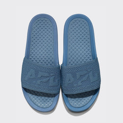 Men's Big Logo TechLoom Slide Grey Denim