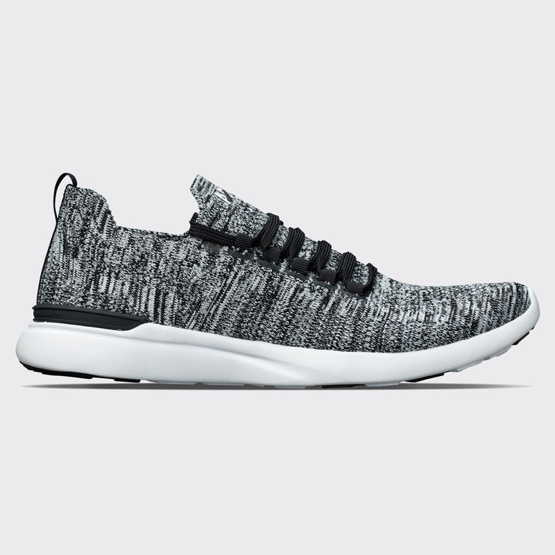 Men's TechLoom Breeze Black / White / Melange