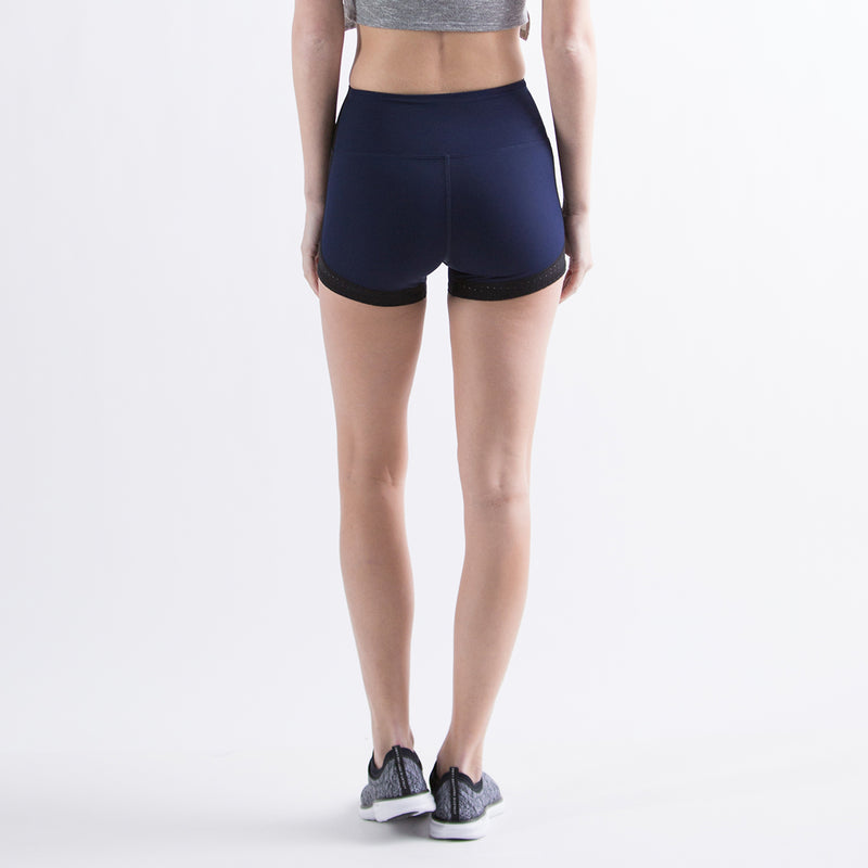 Women's The Perfect Spandex Shorts Navy / Black