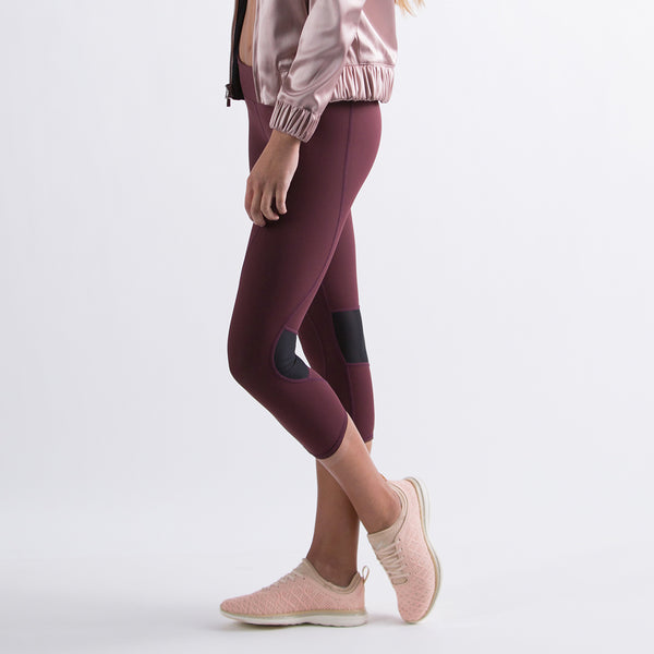 Women's The Perfect Capri Burgundy