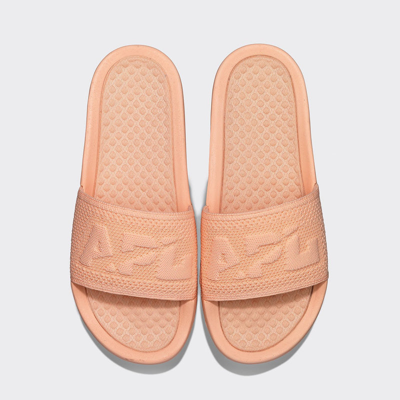 Women's Big Logo TechLoom Slide Faded Peach