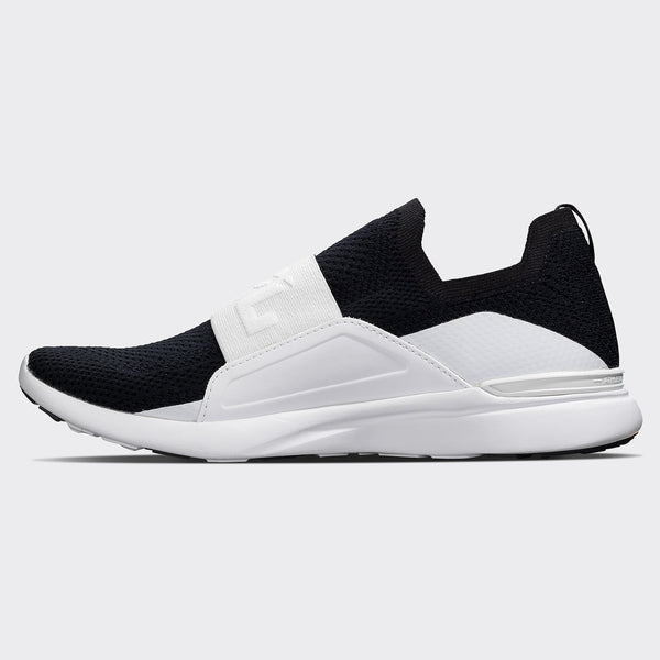 Men's TechLoom Bliss Black / White / Black