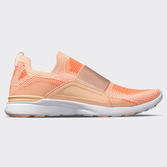 Women's TechLoom Bliss Faded Peach / Molten / White