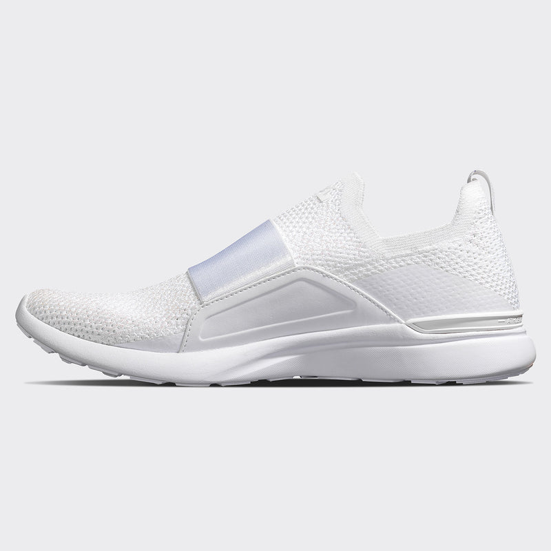 Women's TechLoom Bliss White / Metallic Pearl / Ombre