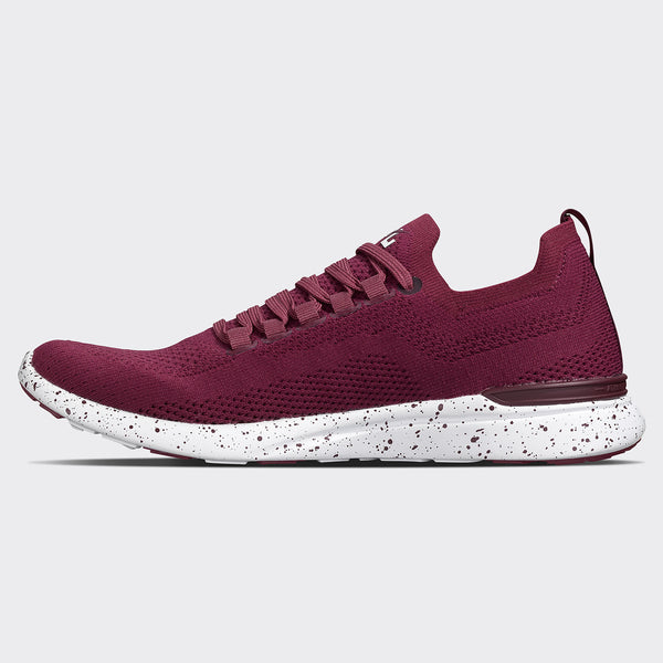 Women's TechLoom Breeze Burgundy / White / Speckle