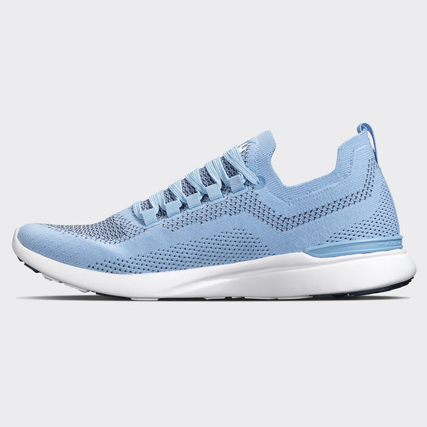 Men's TechLoom Breeze Ice Blue / Midnight / White