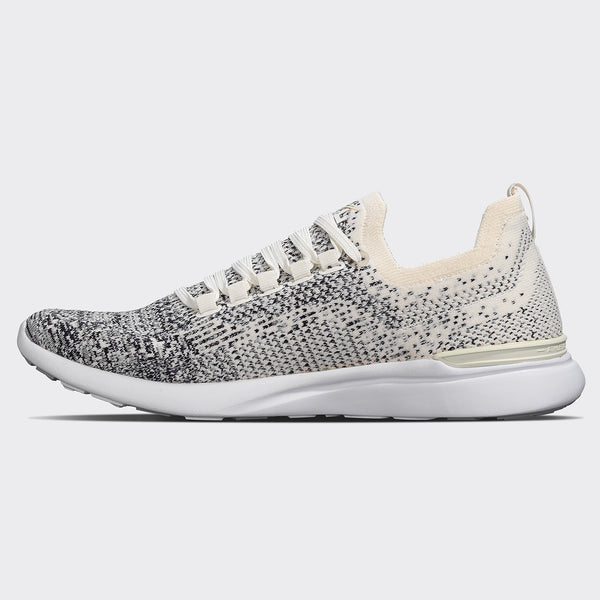 Women's TechLoom Breeze Pristine / Heather Grey / Ombre
