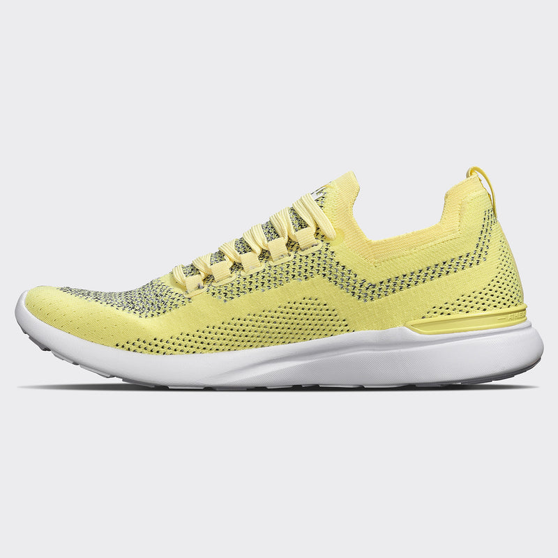 Women's TechLoom Breeze Sunbeam Yellow / Heather Grey / White