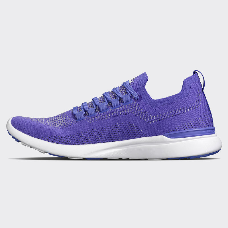 Women's TechLoom Breeze Ultra Violet / Metallic Silver / White