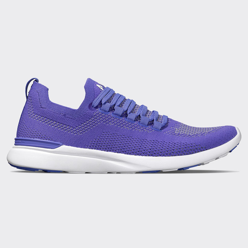 Men's TechLoom Breeze Ultra Violet / Metallic Silver / White