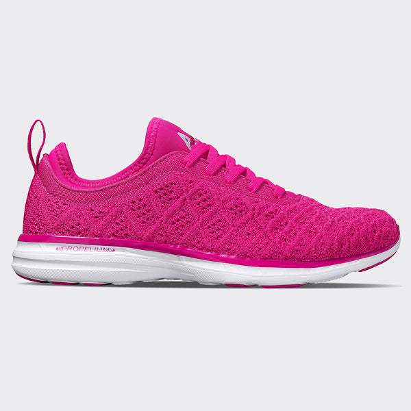 Women's TechLoom Phantom Deep Magenta / White