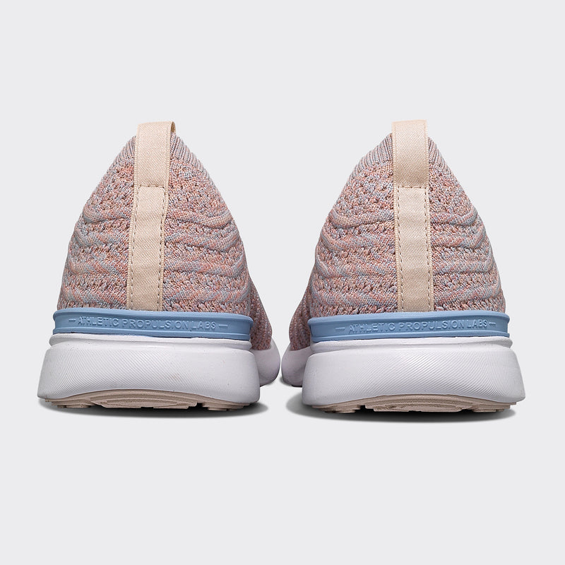 Women's TechLoom Wave Pastel Melange / White