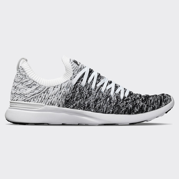 Men's TechLoom Wave White / Black / Ombre