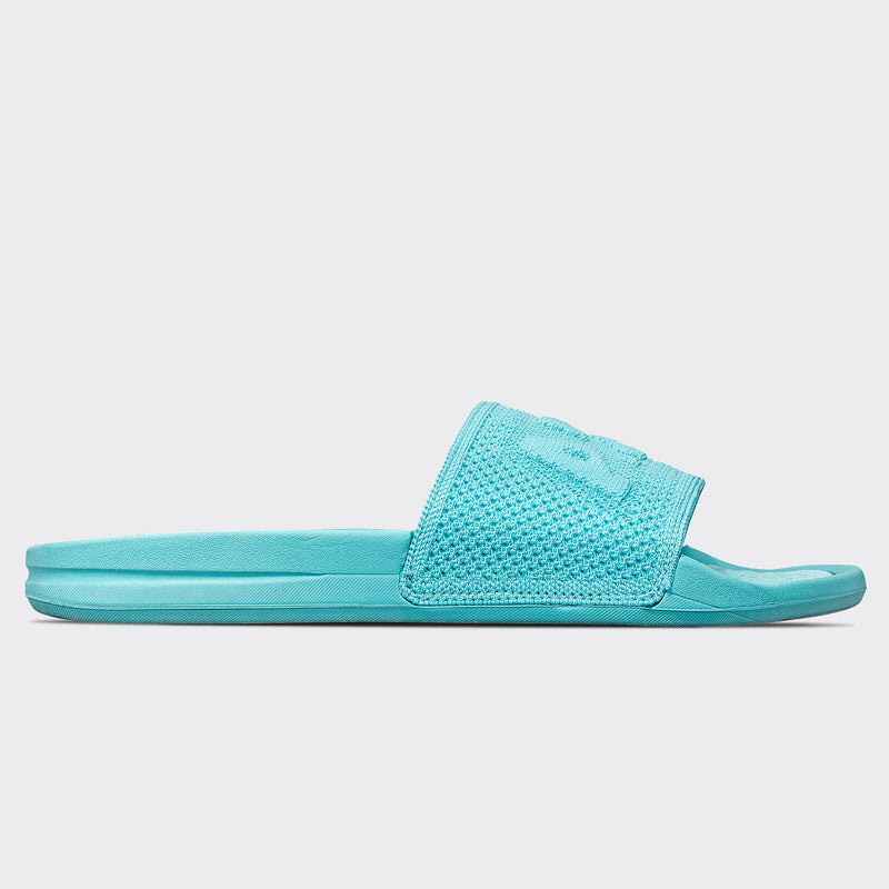 Women's Big Logo TechLoom Slide Bahama Blue