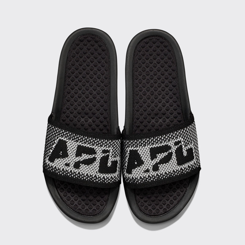 Women's Big Logo TechLoom Slide Black / White