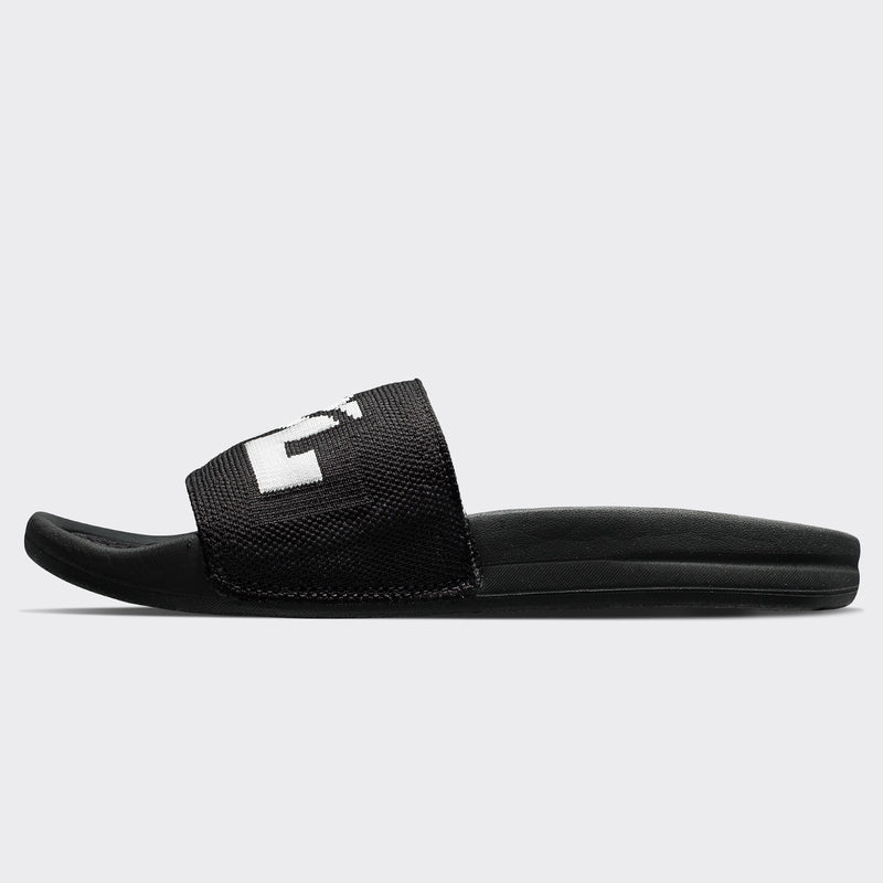Women's Big Logo TechLoom Slide Black / Black / White