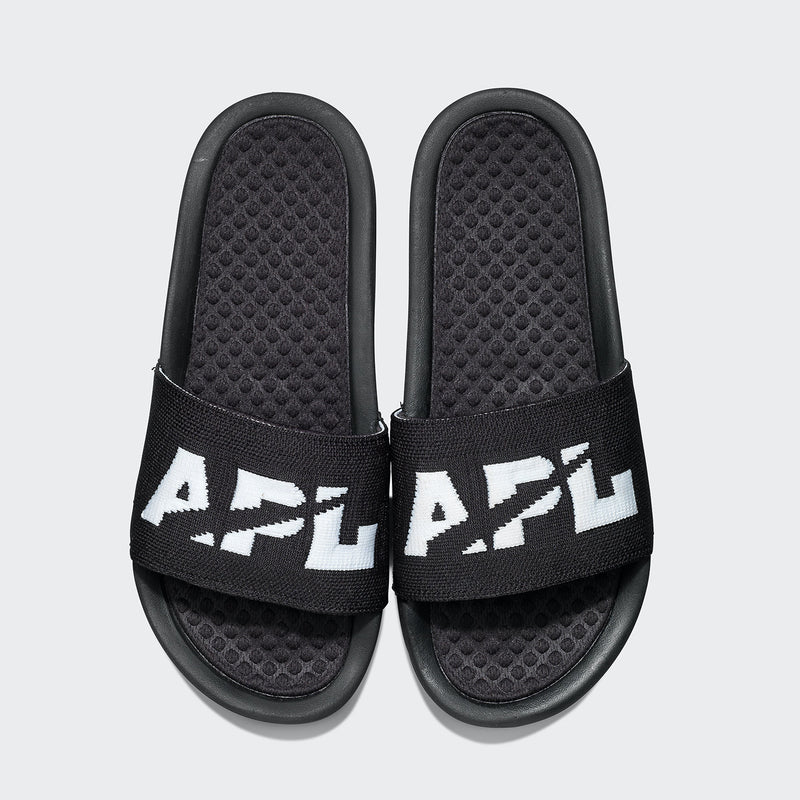 Men's Big Logo TechLoom Slide Black / Black / White