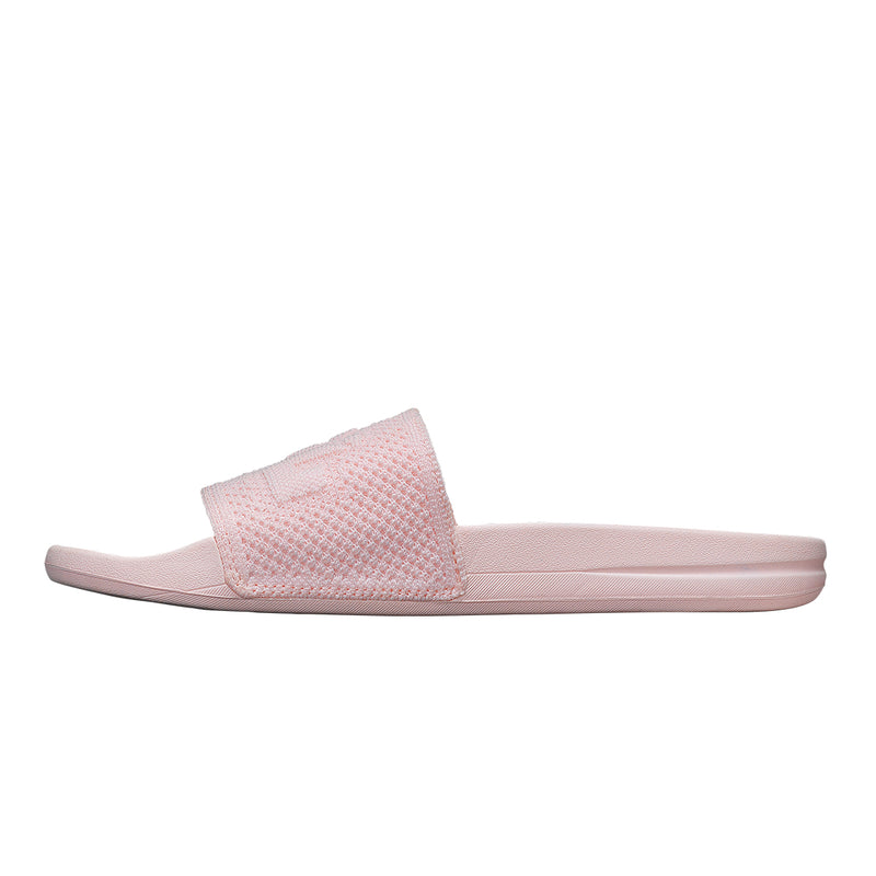 Women's Big Logo TechLoom Slide Bleached Pink