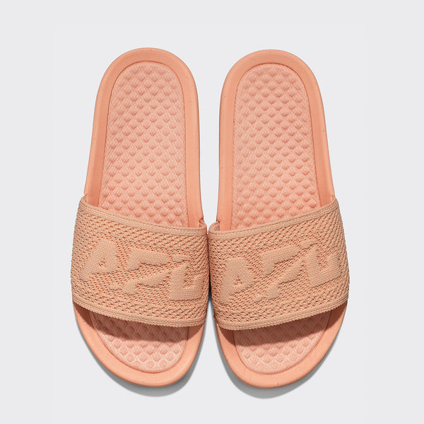 Women's Big Logo TechLoom Slide Blush