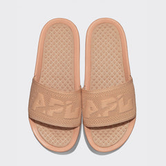 Women's Big Logo TechLoom Slide Caramel