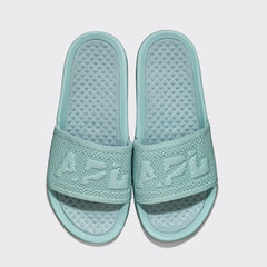 Women's Big Logo TechLoom Slide Elder Green