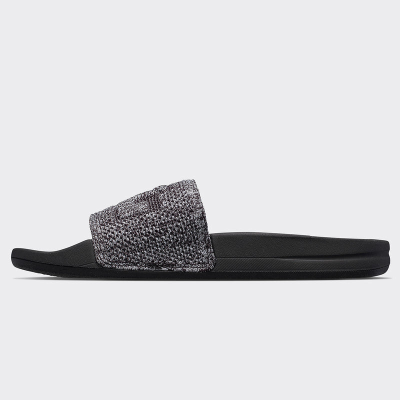 Women's Big Logo TechLoom Slide Heather Grey  /  Black