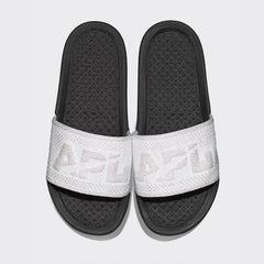 Women's Big Logo TechLoom Slide Metallic Pearl / Black