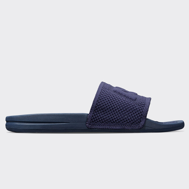 Men's Big Logo TechLoom Slide Navy