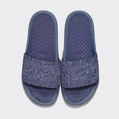 Women's Big Logo TechLoom Slide Navy / White / Melange