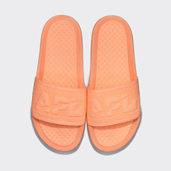 Women's Big Logo TechLoom Slide Neon Peach