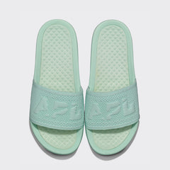 Women's Big Logo TechLoom Slide Peppermint