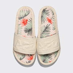 Women's Big Logo TechLoom Slide Pristine / Tropic