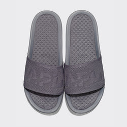 Men's Big Logo TechLoom Slide Smoke