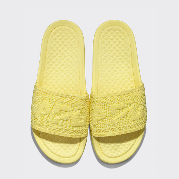 Women's Big Logo TechLoom Slide Sunbeam Yellow