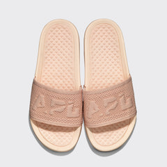Women's Big Logo TechLoom Slide Vanilla Cream