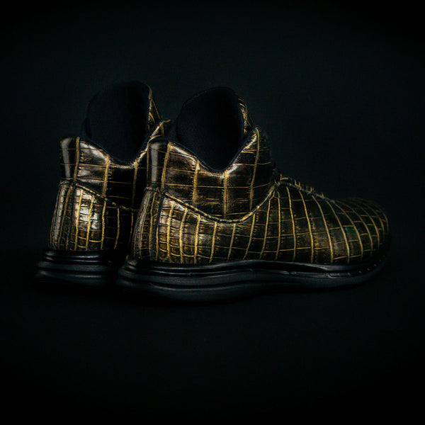 Men's Lusso Supreme Black / Pure Gold
