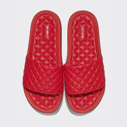 Women's Lusso Slide Red